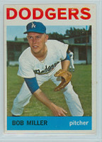 1964 Topps Baseball 394 Bob L Miller Los Angeles Dodgers Excellent to Mint
