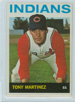 1964 Topps Baseball 404 Tony Martinez Cleveland Indians Excellent to Mint