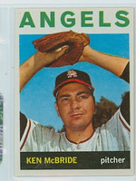 1964 Topps Baseball 405 Ken McBride California Angels Near-Mint
