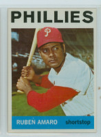 1964 Topps Baseball 432 Ruben Amaro Philadelphia Phillies Near-Mint