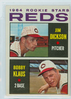 1964 Topps Baseball 524 Reds Rookies Excellent