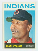 1964 Topps Baseball 530 Leon Wagner High Number Cleveland Indians Excellent to Mint