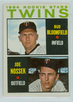1964 Topps Baseball 532 Twins Rookies High Number Excellent to Excellent Plus