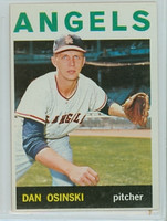 1964 Topps Baseball 537 Dan Osinski High Number California Angels Excellent to Excellent Plus