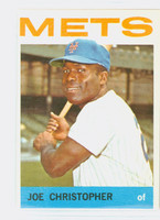 1964 Topps Baseball 546 Joe Christopher High Number New York Mets Excellent to Mint