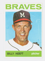 1964 Topps Baseball 551 Billy Hoeft High Number Milwaukee Braves Excellent to Mint
