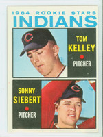 1964 Topps Baseball 552 Indians Rookies High Number Excellent to Mint