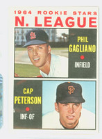 1964 Topps Baseball 568 NL Rookies High Number Excellent to Excellent Plus