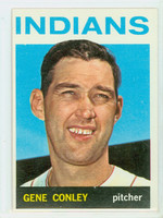 1964 Topps Baseball 571 Gene Conley High Number Cleveland Indians Excellent to Excellent Plus