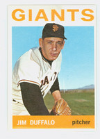 1964 Topps Baseball 573 Jim Duffalo High Number San Francisco Giants Excellent to Excellent Plus