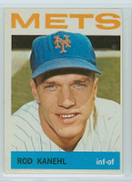 1964 Topps Baseball 582 Rod Kanehl High Number New York Mets Excellent to Excellent Plus