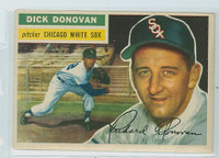 1956 Topps Baseball 18 Dick Donovan Chicago White Sox Near-Mint White Back