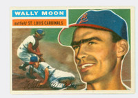 1956 Topps Baseball 55 Wally Moon St. Louis Cardinals Near-Mint Grey Back