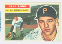 1956 Topps Baseball 56 Dale Long Pittsburgh Pirates Near-Mint White Back