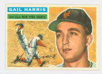 1956 Topps Baseball 91 Gail Harris New York Giants Excellent to Mint White Back
