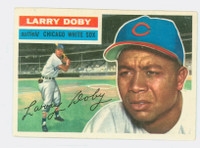 1956 Topps Baseball 250 Larry Doby Tough Series Chicago White Sox Very Good