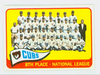 1965 Topps Baseball 91 Cubs Team Very Good to Excellent