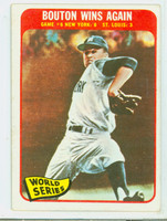 1965 Topps Baseball 137 World Series GM 6 Excellent to Excellent Plus