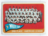 1965 Topps Baseball 234 White Sox Team Very Good to Excellent