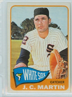 1965 Topps Baseball 382 JC Martin High Number Chicago White Sox Excellent to Excellent Plus