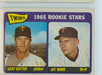 1965 Topps Baseball 421 Twins Rookies High Number Excellent to Excellent Plus