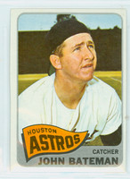 1965 Topps Baseball 433 John Bateman High Number Houston Astros Excellent to Excellent Plus
