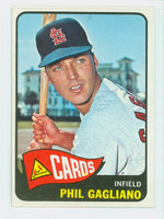 1965 Topps Baseball 503 Phil Gagliano High Number St. Louis Cardinals Excellent to Mint