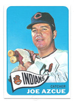 1965 Topps Baseball 514 Joe Azcue High Number Cleveland Indians Excellent to Mint