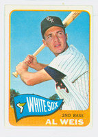 1965 Topps Baseball 516 Al Weis High Number Chicago White Sox Excellent to Mint