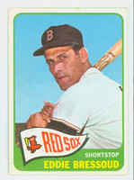 1965 Topps Baseball 525 Eddie Bressoud High Number Boston Red Sox Very Good to Excellent