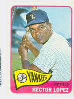 1965 Topps Baseball 532 Hector Lopez High Number New York Yankees Excellent to Excellent Plus