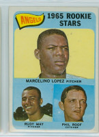 1965 Topps Baseball 537 Angels Rookies High Number Excellent to Excellent Plus