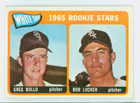1965 Topps Baseball 541 White Sox Rookies High Number Excellent