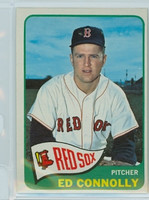 1965 Topps Baseball 543 Ed Connolly High Number Single Print Boston Red Sox Excellent to Excellent Plus
