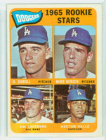 1965 Topps Baseball 561 Dodgers Rookies High Number Excellent