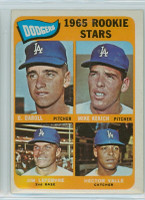 1965 Topps Baseball 561 Dodgers Rookies High Number Excellent to Excellent Plus