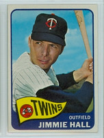 1965 Topps Baseball 580 Jimmie Hall High Number Single Print Minnesota Twins Excellent to Excellent Plus