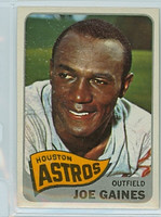 1965 Topps Baseball 594 Joe Gaines High Number Houston Astros Excellent