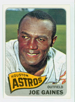 1965 Topps Baseball 594 Joe Gaines High Number Houston Astros Excellent to Mint