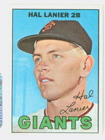 1967 Topps Baseball 4 Hal Lanier San Francisco Giants Excellent to Mint