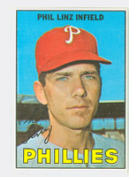 1967 Topps Baseball 14 Phil Linz Philadelphia Phillies Excellent to Mint