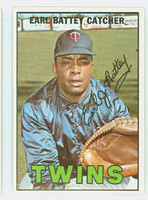 1967 Topps Baseball 15 Earl Battey Minnesota Twins Excellent to Mint