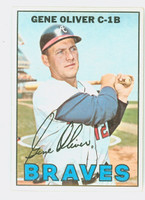 1967 Topps Baseball 18 Gene Oliver Atlanta Braves Excellent to Mint