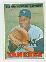 1967 Topps Baseball 25 Elston Howard New York Yankees Good to Very Good