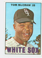 1967 Topps Baseball 29 Tommy McCraw Chicago White Sox Excellent to Mint