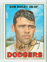 1967 Topps Baseball 32 Bob Bailey Los Angeles Dodgers Excellent to Mint