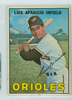 1967 Topps Baseball 60 Luis Aparicio Baltimore Orioles Very Good