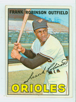 1967 Topps Baseball 100 Frank Robinson Baltimore Orioles Very Good