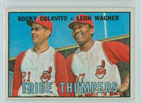 1967 Topps Baseball 109 Tribe Thumpers Cleveland Indians Very Good