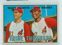1967 Topps Baseball 109 Tribe Thumpers Cleveland Indians Very Good to Excellent